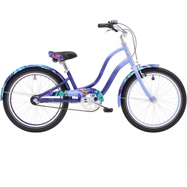 "Vélo Beach Cruiser ELECTRA ENCHANTED JUNGLE 3i 20"" Violet 2020"